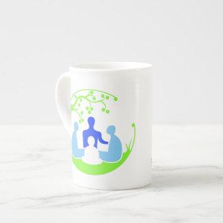 Familie Montessori Tasse Porzellantassen