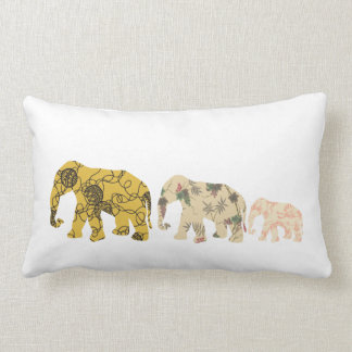 Familien-Elefanten Kissen