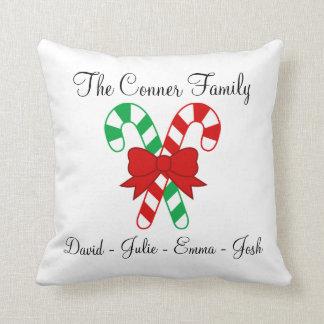 Familien-Weihnachtskissen Kissen