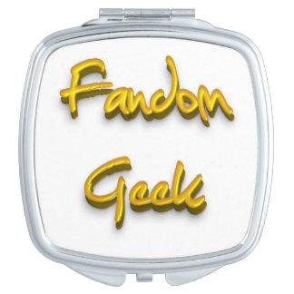 Fandom-Aussenseiter-Gold Taschenspiegel