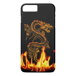 Fantasie-Feuer-Drache iPhone 7 Plusfall iPhone 8 Plus/7 Plus Hülle