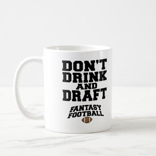 Fantasie Fussball Trinken Nicht Und Zeichnen Kaffeetasse