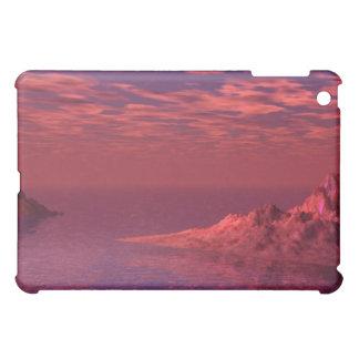 Fantasie-Landschaft - Berge an der Dämmerung iPad Mini Hülle
