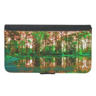 Fantasie-Wald durch Shirley Taylor Samsung Galaxy S5 Geldbeutel Hülle