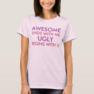 Fantastische Enden mit mir lustiges offensives T-Shirt