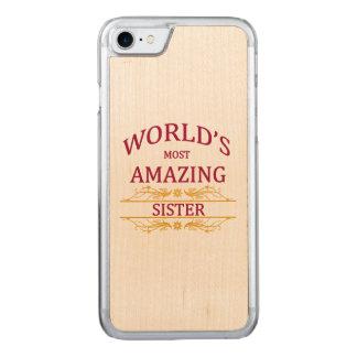 Fantastische Schwester Carved iPhone 8/7 Hülle