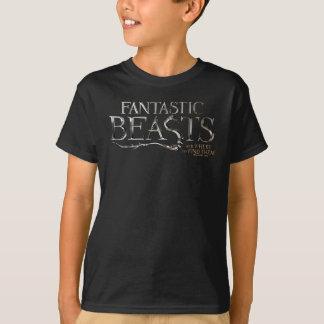 Fantastische Tiere und wo man sie Logo findet T-Shirt