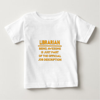 Fantastischer Bibliothekar. Offizielle Baby T-shirt