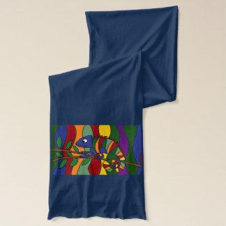 Fantastischer Chamäleon-Kunst-Schal Schal