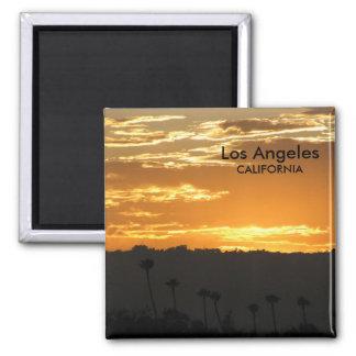 Fantastischer Los Angeles-Magnet! Quadratischer Magnet