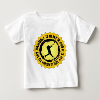 Fantastisches Baseball-Siegel Baby T-shirt