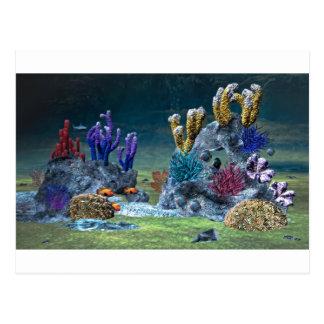 Fantastisches Korallenriff Postkarte