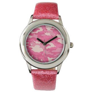 Fantastisches rosa Armee-NO1 Uhr