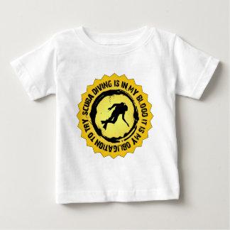 Fantastisches Sporttauchen-Siegel Baby T-shirt