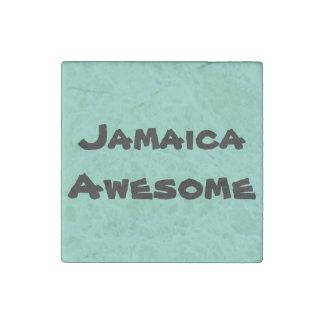Fantastisches Zitat Jamaikas Steinmagnet