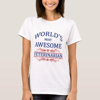 Fantastischste Tierarzt der Welt der T-Shirt
