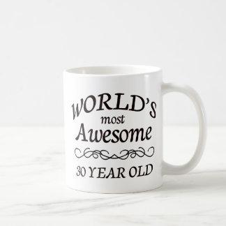 Fantastischsten 30 Jährigen der Welt die Kaffeetasse