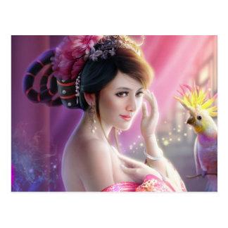 Fantasy Beauty 01 Postkarte