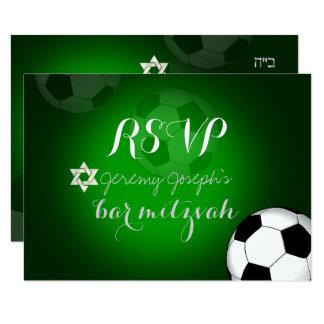 Farbe des PixDezines uAwg Fußball-Bar Mitzvah/DIY 8,9 X 12,7 Cm Einladungskarte