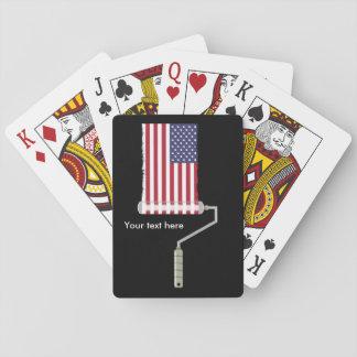 FARBEN-ROLLE USA mit Schatten alle kauft Seite Spielkarten