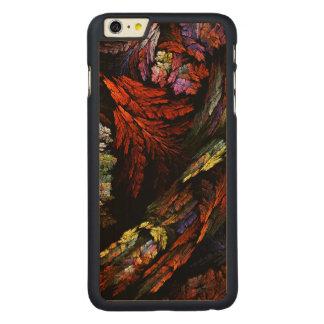 Färben Sie Harmonie-abstrakte Kunst Carved® Maple iPhone 6 Plus Hülle