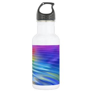 Färben Sie meine Lebenwelt mit Freude Trinkflasche