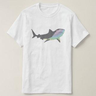 Farbhaifisch-Strudel T-Shirt