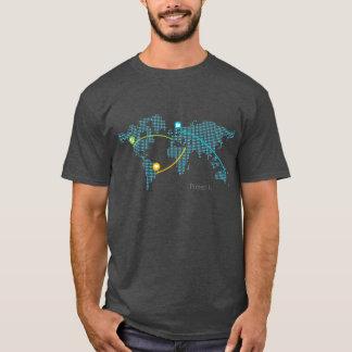 Farbige Projekt-FI - Blau T-Shirt