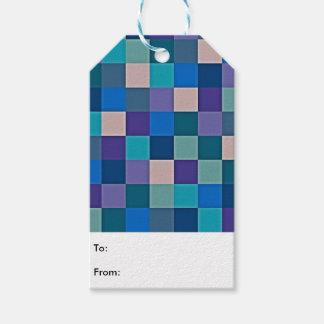 Farbkarte auf Geschenk-Umbauten Geschenkanhänger