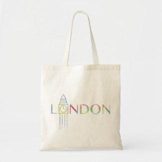 Farbspritzen-Taschen-Tasche Londons Big Ben Tragetasche