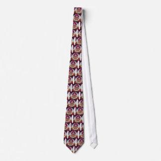 färbt cooles retro Vintages afrikanisches Krawatten