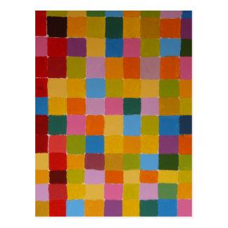 Farbvolles Bild Postkarte