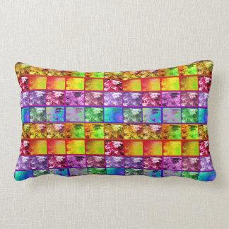 Farn-Blatt-künstlerisches Foto-Reihelumbar-Kissen Zierkissen