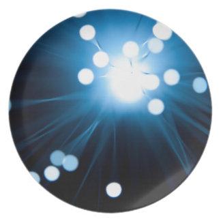 Faseroptikzusammenfassung Melaminteller