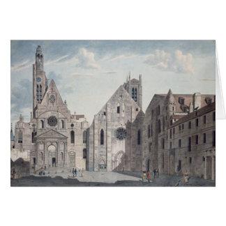 Fassaden der Kirchen Karte