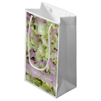 Fast rosa Hydrangea-Hochzeit Kleine Geschenktüte