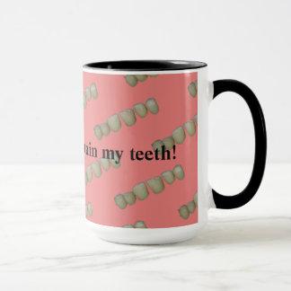 Faule Zahn-Zahnarzt-Zahnheilkunde-Orthodontie Tasse