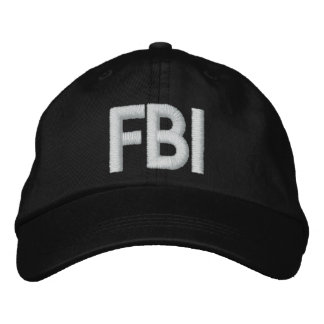 FBI gestickter Hut