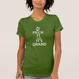 Feck es - Harfe T-Shirt