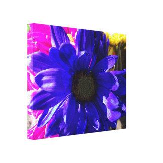 Feelin blauer Leinwand-Druck Gespannter Galerie Druck