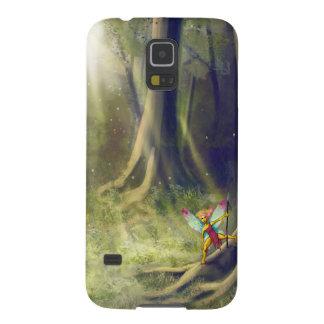 Feenhafte hölzerne Galaxie Galaxy S5 Cover