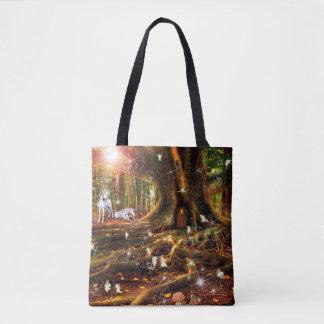 Feenhafte Treehouse-Taschen-Tasche
