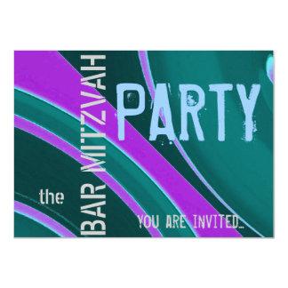 Feier-Bar Mitzvah Party 11,4 X 15,9 Cm Einladungskarte