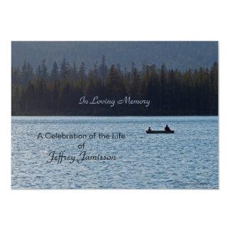 Feier der Leben-Einladung, Fischer 12,7 X 17,8 Cm Einladungskarte