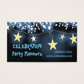 Feier-Event-Planer-Visitenkarten Visitenkarten