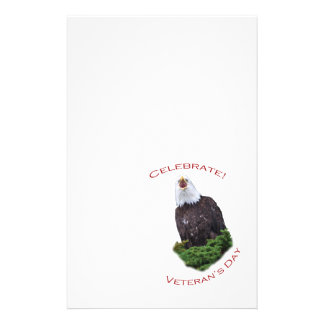 Feiern Sie den Tag des Veterans Briefpapier