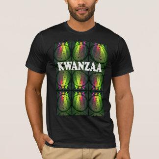 Feiern Sie Kwanzaa, afrikanische Fenster T-Shirt