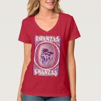 Feiern Sie Kwanzaa, Dorfansicht 2 T-Shirt