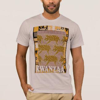 Feiern Sie Kwanzaa, Eberjagd T-Shirt