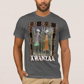 Feiern Sie Kwanzaa, Sitzung der Freunde T-Shirt